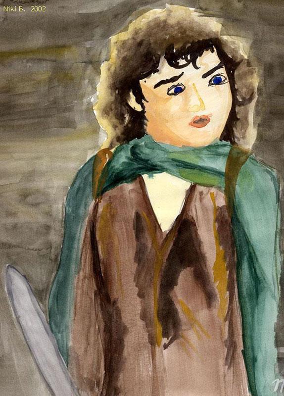Frodo Scared