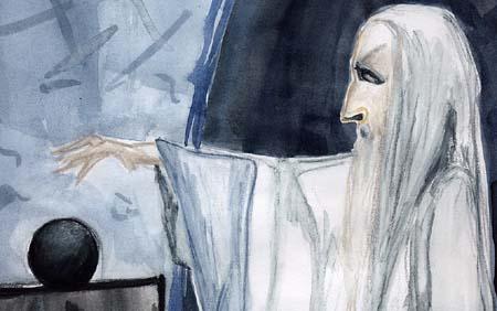Saruman and Palantir