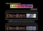 The Quintessential Lord of the Rings Website