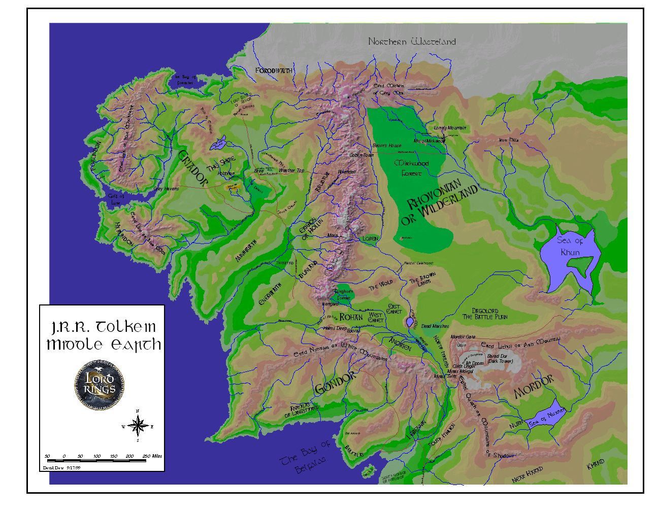 Maps of tolkiens universe jrr tolkien middle earth lord of the rings gumiabroncs Gallery