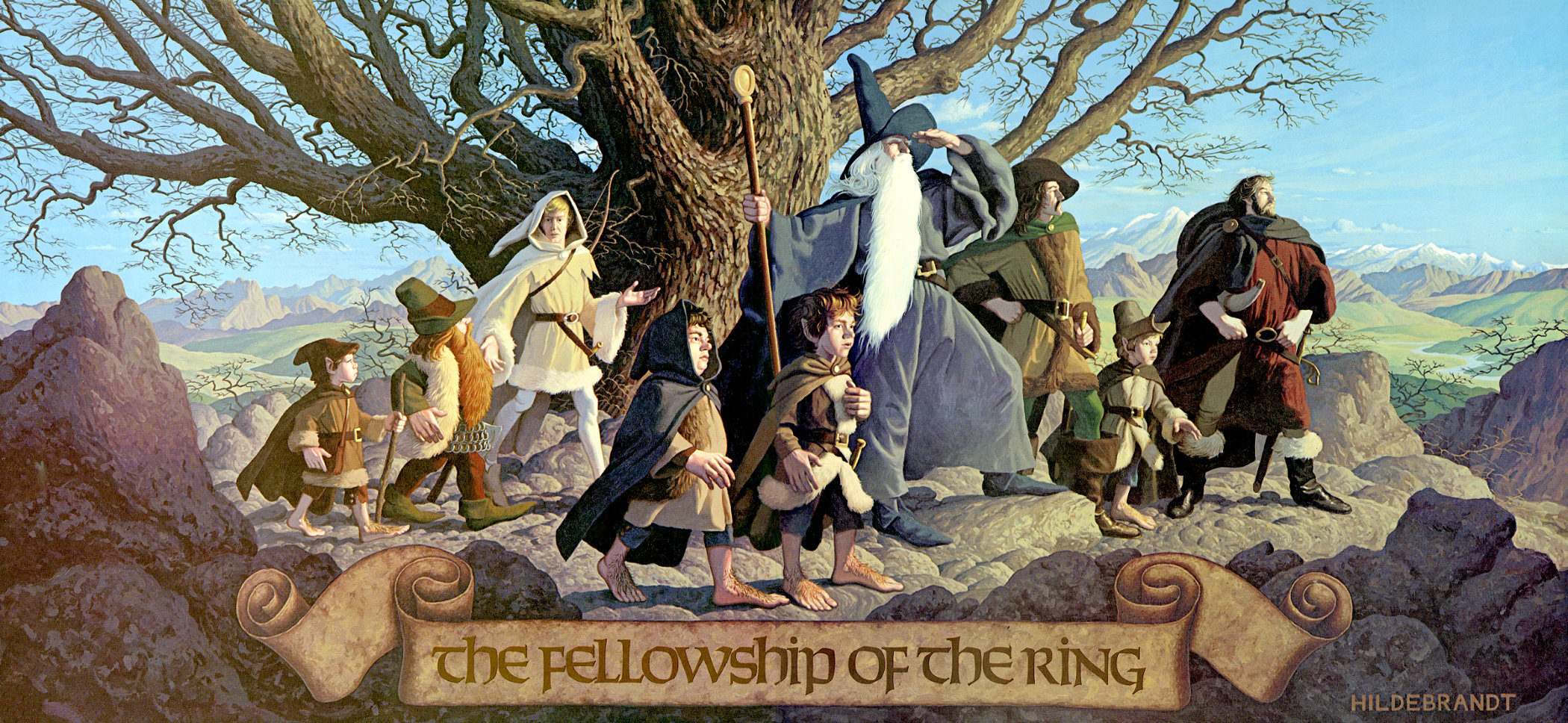 Chapters In Fellowship Of The Ring