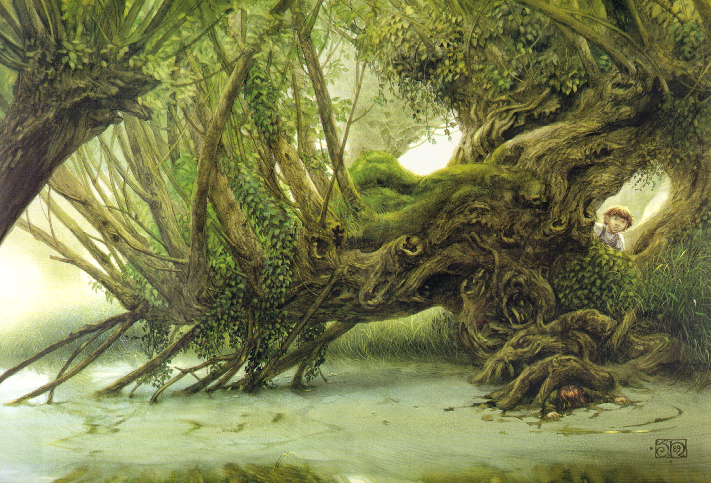 Rolozo tolkien for The willow house