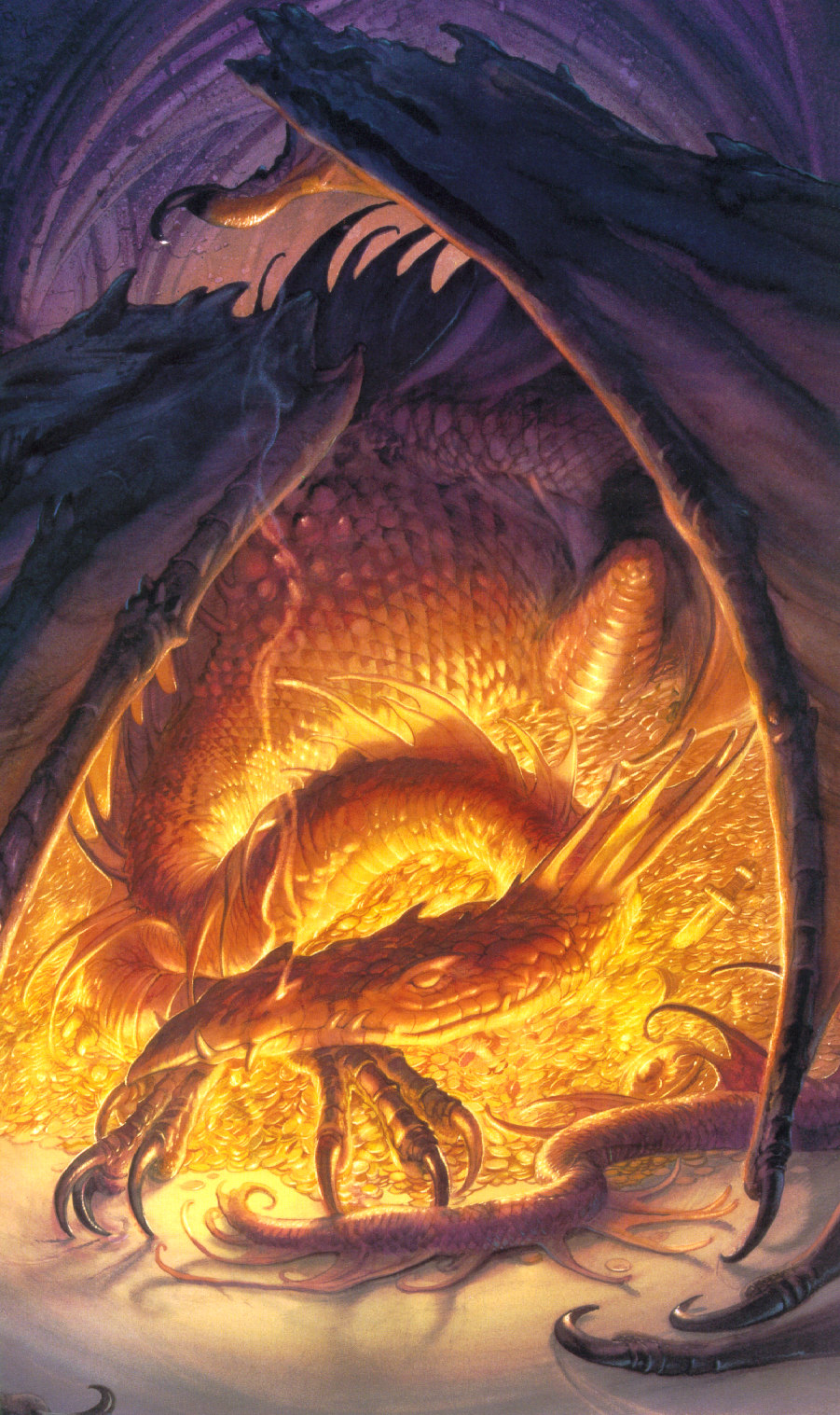We all stand in awe of you o Smaug the Terrible!