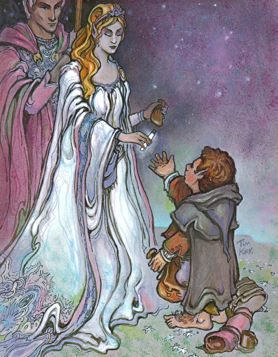 Image result for melian and galadriel