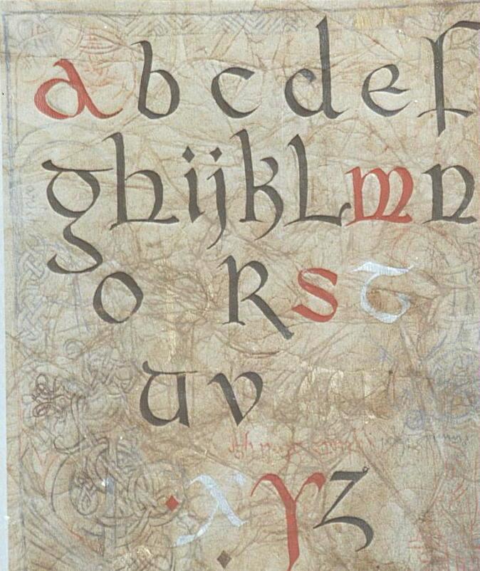 tattoo alfabet. alfabeto espanol alfabet
