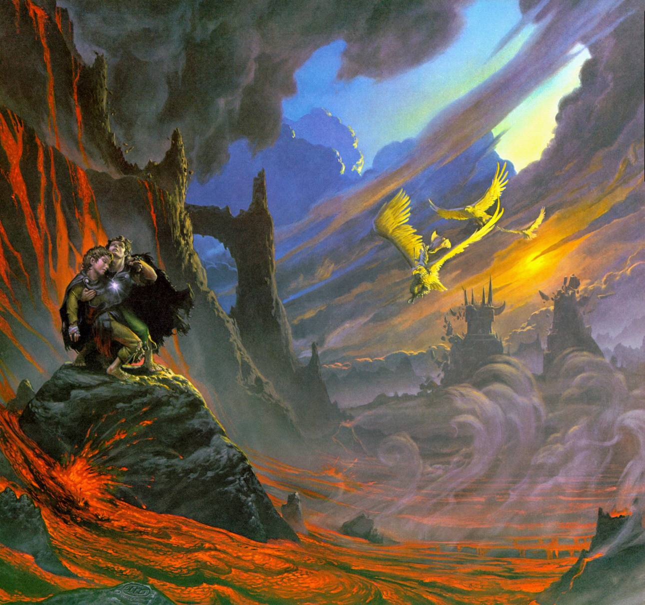 Eagles, by Michael Whelan, from Rolozo page